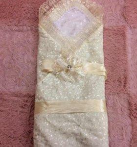 Одеяло на выписку + подарок