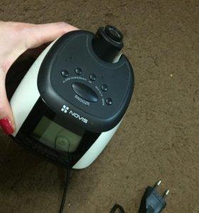 Часы/будильник с проекцией и радио