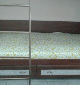 Двухъярусная кровать (модуль)