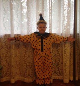 Новогодний костюм фонарика или клоуна