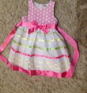 Платье нарядное рост 104
