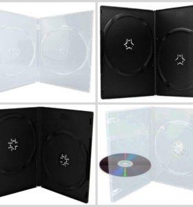 Боксы коробки для DVD дисков новые