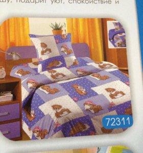 Детское постельное белье из Шуйской бязи