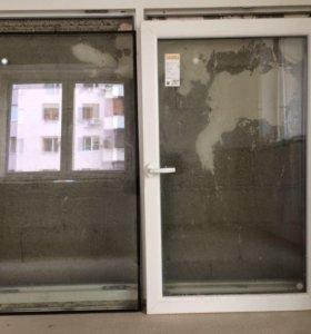 Окно металлопластик