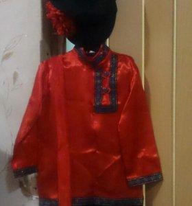 Новогодний костюм в русском стиле