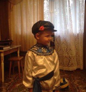 Новогодний костюм  русско-народный- прокат
