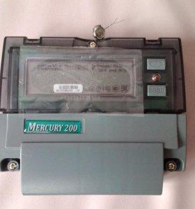 Счетчик электрический Меркурий 200