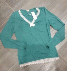 Кофта пижамная incanto, новая, размер s
