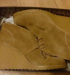 Зимние ботинки 39 р-р
