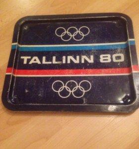 Поднос Олимпиада 80