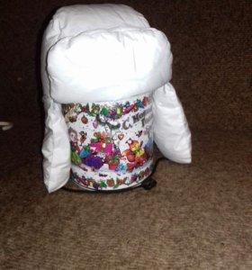 Детская шапочка зимняя