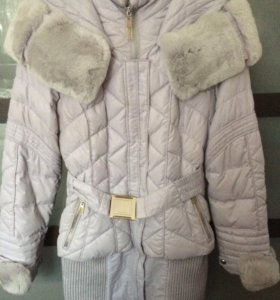 Пуховик куртка-пальто