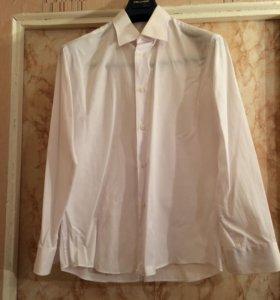 Итальянская белая рубашка