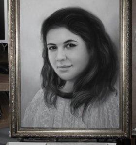 🎁Стильный подарочный портрет по фото