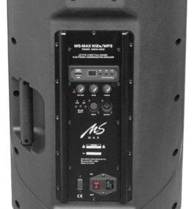 Акустическая система  б/у Ms-Max N12a/MP3