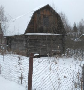 Земельный участок и недостроенный  дом