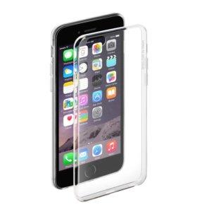 Чехол силиконовый iPhone 5/5S/SE/6/6S/7