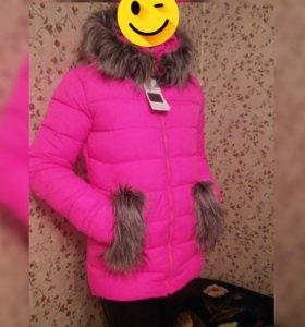 Зимняя молодежная курточка
