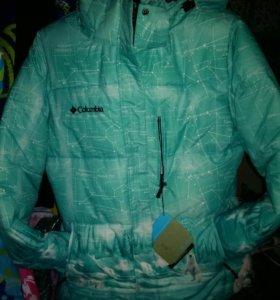 Новый зимнии горнолыжный костюм мебранная Columbia