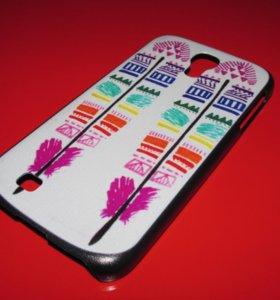 Пластиковый чехол Aztec на Samsung Galaxy S4