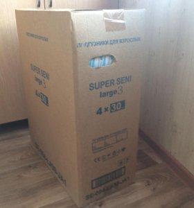 Памперсы для взрослых Super Seni, размер 3.