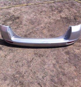 Бампер задний Мазда Демио (Mazda Demio) DY3W/5W