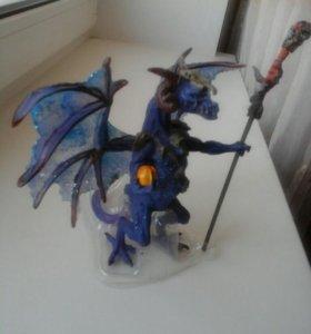 Игрушки сказочный дракон