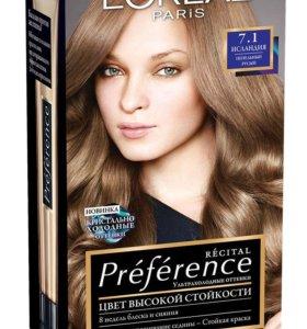 Новая краска д/волос Лореаль цвет Исландия