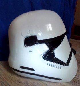 Шлем штурмовика первого ордена из star wars