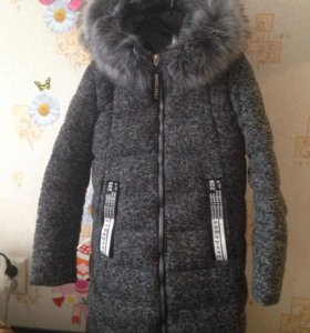 Тёплое пальто новое