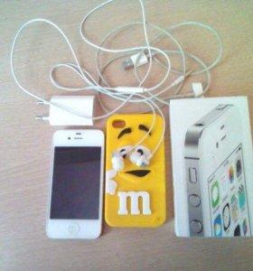 Айфон 4 s(white)