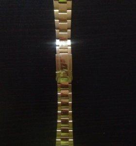 Металлические браслеты для часов
