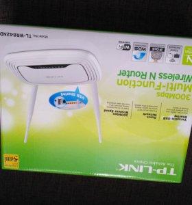 WiFi роутер TP-link 300мбит/с новый
