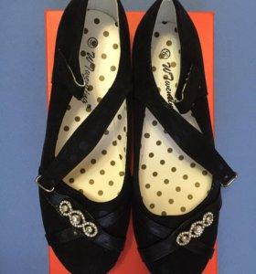 Новые туфли, для девочки
