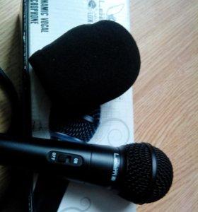 Микрофон +ветрозащита+шнур