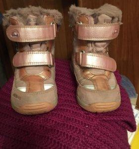 Ботинки зимние размер 26