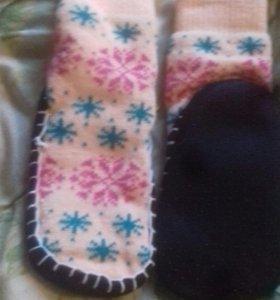 Тапочки-носочки(новые)