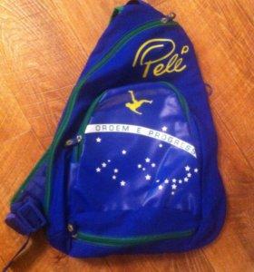 Сумка,рюкзак новый Pelé