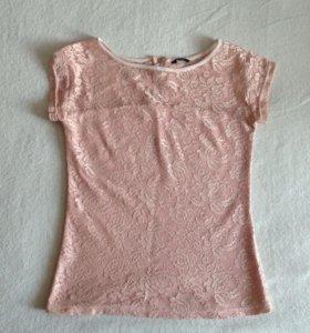 Кружевная футболка