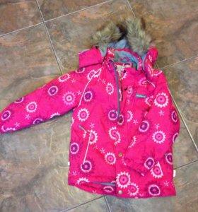 Куртка на девочку Huppa