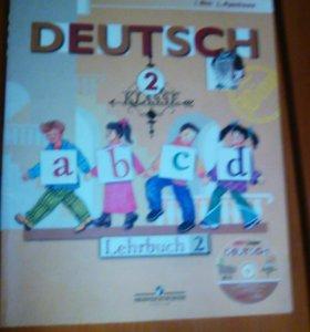 Учебник 2 класс немецкий язык.
