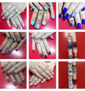 Покрытие ногтей гель -лаком