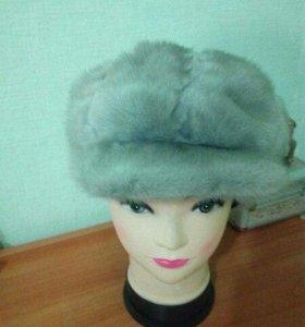 Натуральная норковая шапка