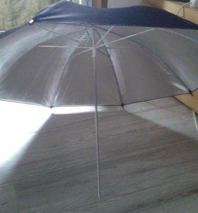 Зонт для сьёмки в студии.