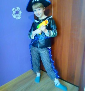 Новогодний костюм пирата(разбойника)прокат