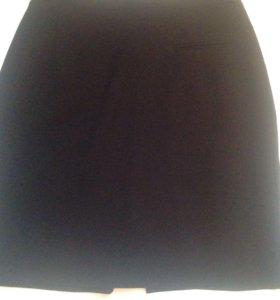 Юбка чёрная  42-44