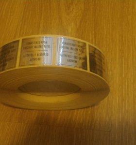 Стикеры-наклейки для дисков