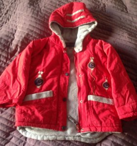 Теплая куртка осень/весна