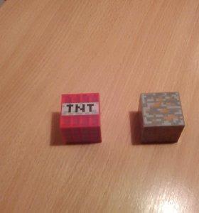 Кубики майнкрафт