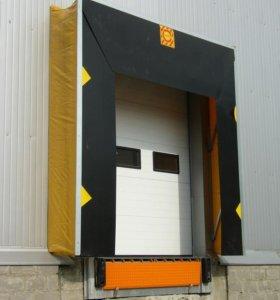 Ворота промышленные гаражные 3000х3000мм с окнами